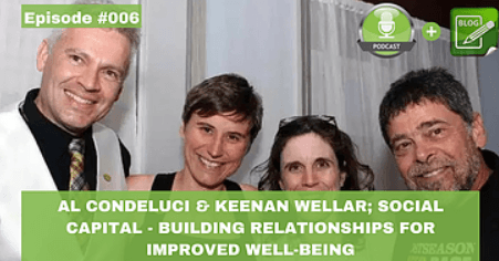 al condeluci and keenan wellar social capital building relationships for improved well being