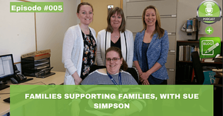 families supporting families with sue simpson