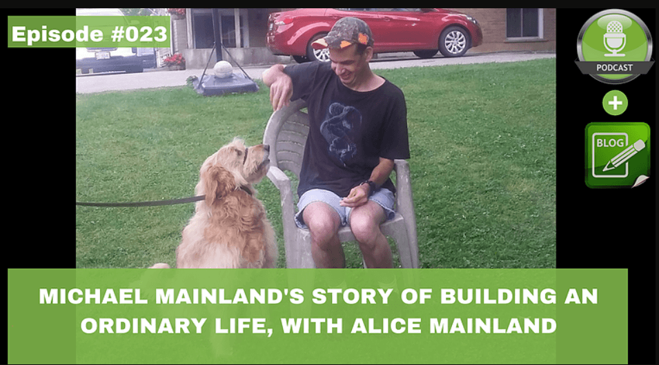 michael mainlands story of building an ordinary life with alice mainland