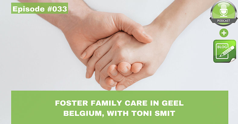 foster family care in geel belgium with toni smit