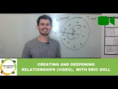 How to Create More and Deeper Relationships (Video)