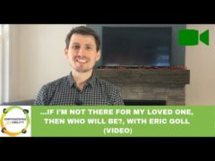 …If I am not there for my loved one with a disability, then who will be? (Video)