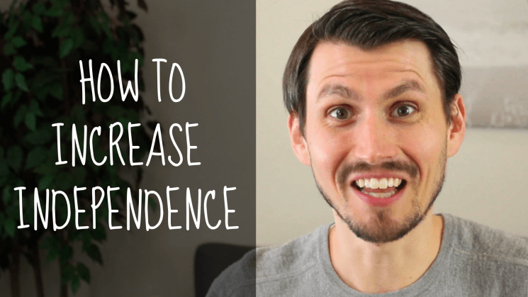 Eric Goll, how to increase independence